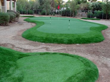 Grass Installation El Cerro, New Mexico Putting Green Grass, Backyard Ideas artificial grass