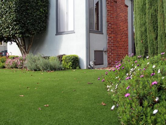 Artificial Grass Photos: Synthetic Lawn Nambe, New Mexico Paver Patio, Front Yard Landscaping Ideas