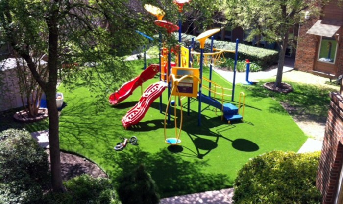 Artificial Grass for Playgrounds in Albuquerque